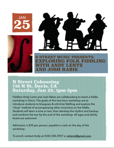 Fiddle Workshop Flyer